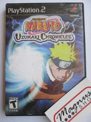 Naruto Uzumaki Chronicles Para Playstation 2 Ps2 Buen Juego