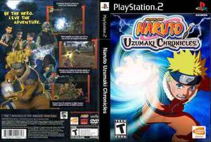 Naruto Uzumaki Chronicles Ps2 Incluye Manual