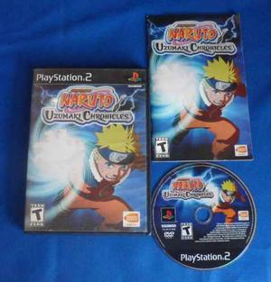 Naruto Uzumaki Chronicles Ps2 Play Station 2 Retromex Tcvg