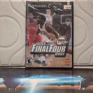 Ncaa Final Four Playstation 2 Cerrado De Fabrica