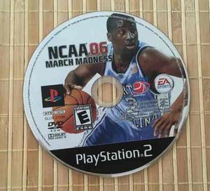 Ncaa March Madness 06 Sony Playstation 2 Ps2 Usado