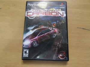 Need For Speed Carbon Para Ps2 Perfecto Estado-------mr.game