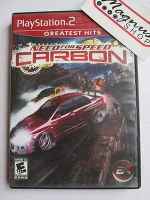 Need For Speed Carbon Playstation 2 Ps2 Carreras