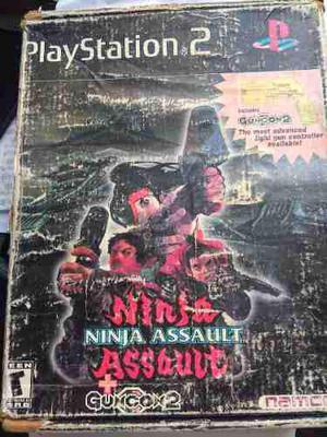 Ninja Assault Con Guncon 2 Ps2 Playstation 2