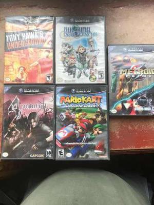 Nintendo Game Cube Con Controles Y Juegos