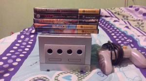 Nintendo Gamecube En Perfectas Condiciones, Con 5 Juegos
