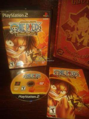 One Piece Grand Battle Completo Para Tu Ps2