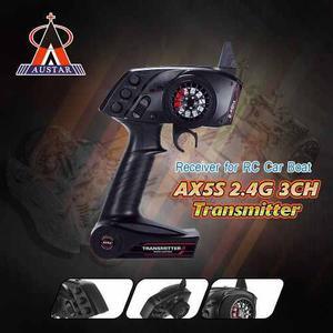 Original Austar Ax5s 2.4g 3ch Afhs Radio Transmisor De Contr