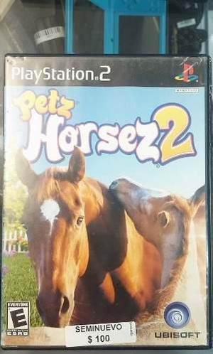 Petz Horsez 2 Seminuevo! Ps2 Solo En Igamers