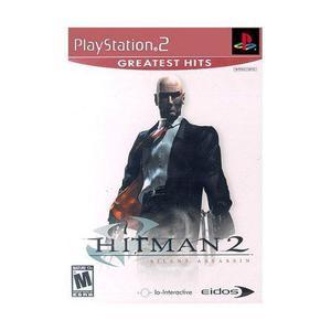 Play Station 2 Hitman 2 Silent Assassin Videojuego En Ingles
