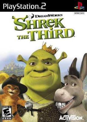 Play Station 2 Shrek The Third Videojuego En Ingles
