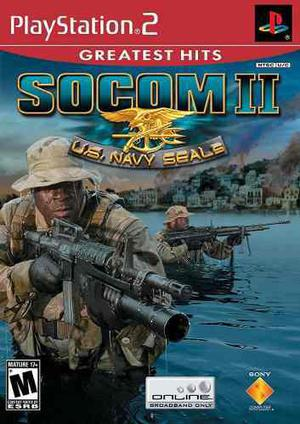 Play Station 2 Socom 2 Us Navy Seal Videojuego En Ingles