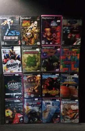 Playstation 2 16 Videojuegos Lote 3 Gamestoreshock