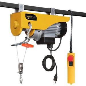 Polipasto Electrico De 300-600 Kg Con Cable De 20 M A 110v