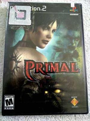 Primal Ps2 Playstation 2 Juego Nuevo Y Sellado De Fabrica