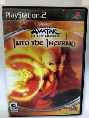 Ps2 Avatar The Last Airbender. Into The Inferno.