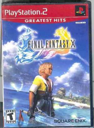 Ps2 Final Fantasy X Nuevo Envio Gratis