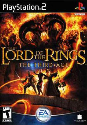 Ps2 - Lord Of The Rings The Third Age (mercado Pago, Oxxo)