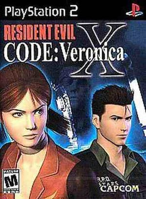 Ps2 Resident Evil Code Veronica X. Compatible Con Ps3 Fat.