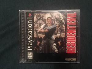 Resident Evil 1 Ps1 Ps2 Ps3 Muy Buena Condición Playstation