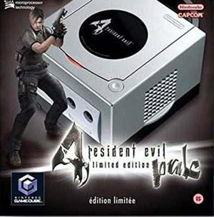 Resident Evil 4 Gamecube Consola Europea Ultra Rara Pal