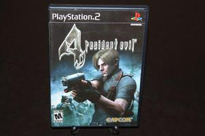 Resident Evil 4 Playstation 2. Dead. Capcom. Completo 1a Ed.