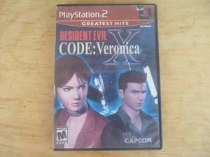 Resident Evil Code Veronica X Ps2 Pregunta Por Precio Bajo