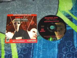 Resident Evil Wesker´s Report En Muy Buen Estado,ps2