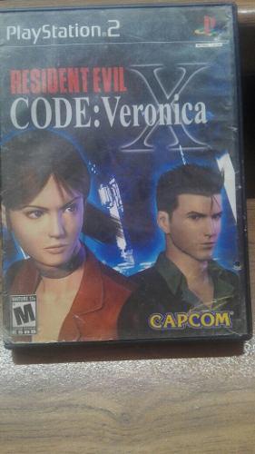 Residet Evil Code: Veronica X Para Tu Ps2 **