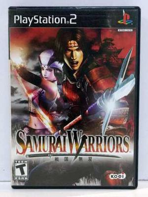 Samurai Warriors Play Station 2 Ps2 Completo Retromex Tcvg