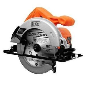 Sierra Circular Black & Decker 7 1/4 1500w 1 Disco Cs1024-b3
