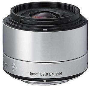 Sigma 19mm F2.8 Ex Dn Arte Plata Para Sony Se