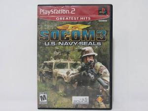 Socom 3: U.s. Navy Seals - Ps2 ¡usado! En Tecno - Gaming