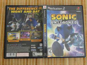 Sonic Unleashed Ps2 Sony Playstation 2
