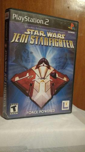 Star Wars Jedi Starfighter (con Manual) Ps2 Od.st
