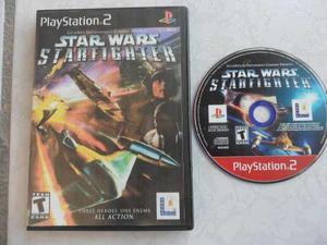 Star Wars Starfighter Ps2 Portada Impresa