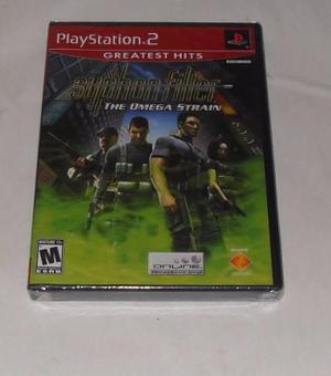 Syphon Filter The Omega Strain Nuevo Ps2 - Playstation 2