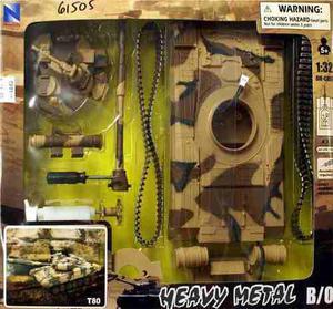Tanque Ligero Ruso T-80, Para Armar, De Plástico, Con
