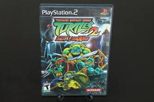 Teenage Mutant Ninja Turtles 2 Battlenexus Playstation 2