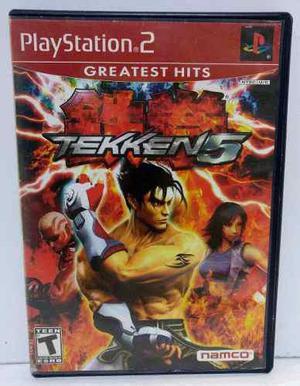 Tekken 5 Play Station 2 Ps2 Completo Retromex Tcvg