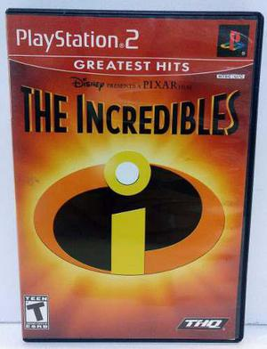 The Incredibles Play Station 2 Ps2 Completo Retromex Tcvg