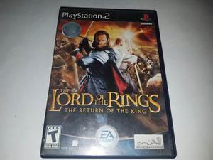 The Lord Of The Rings The Return Of The King Ps2 (cementerio