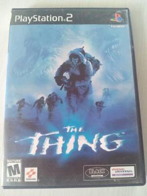 The Thing Ps2 Survival Horror Juego Inpecable Raro Play2