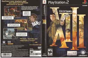 Thirteen Xiii Playstation 2 Como Nuevo