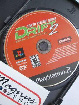 Tokyo Xtreme Racer Drift 2 Para Playstation 2 Ps2 Carreras