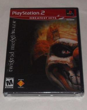 Twisted Metal Black Para Playstation 2