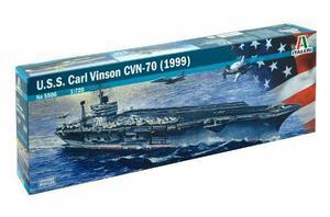 U.s.s. Carl Vinson Cvn-70 (1999) By Italeri # 5506 1/720