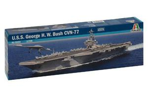 U.s.s. George H. W. Bush Cvn-77 By Italeri # 5534 1/720