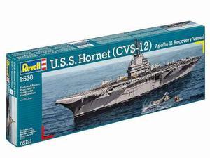 U.s.s. Hornet (cvs-12) By Revell Germany # 5121 1/530