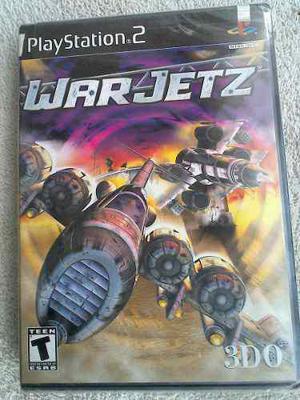 War Jetz Ps2 Playstation 2 Juego Nuevo Y Sellado De Fabrica